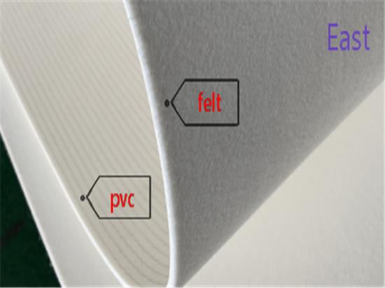 B-021 PVC + Polyester Felt Belt
